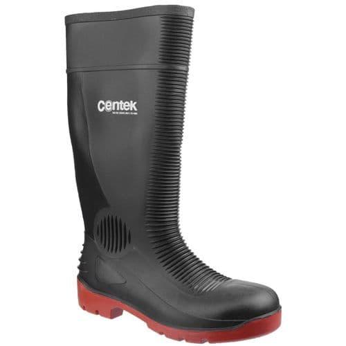 Centek FS338 Safety Wellingtons Black